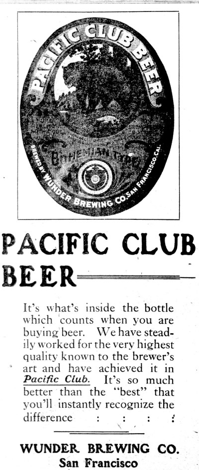 """""""If it's a great beer, it's a Wunder."""""""