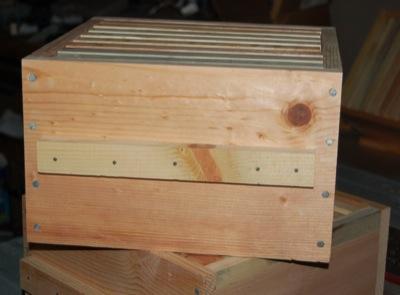 Assembled Hive Box