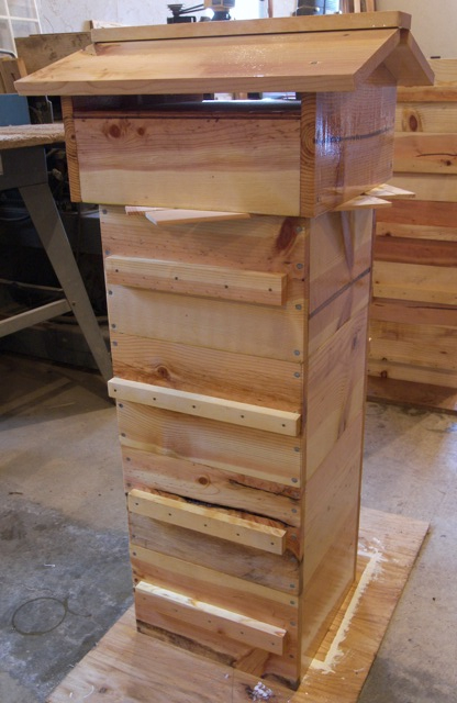 Oiled Warre Hive Parts