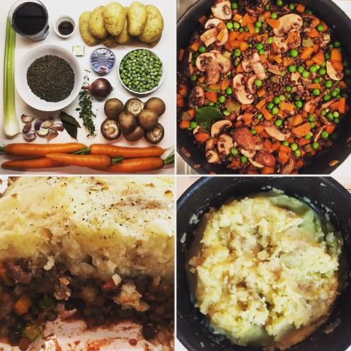 Lentils Shepherd's Pie   Vegan