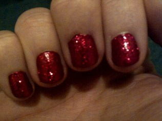Dorothy Wizard of Oz nails