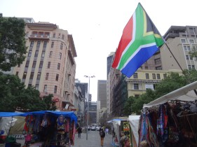 Market In Downtown Cape Town