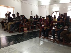 Youth Service At The Church