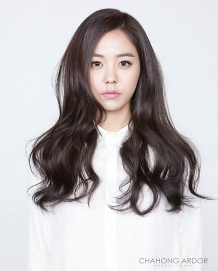korean wavy hairstyles