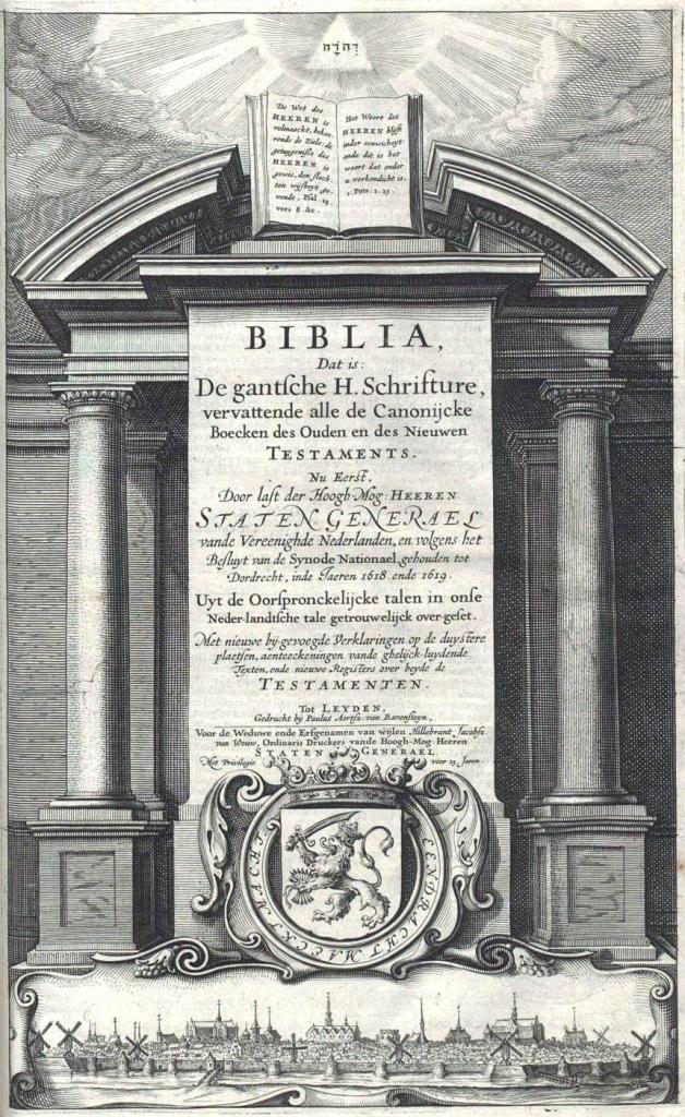 De Staten-Bijbel (1637).
