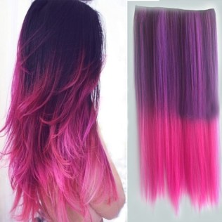pink_purple_ombre_hair_exension