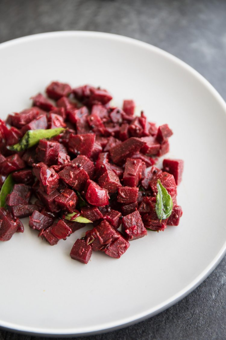 Sri Lankan Dry Beetroot Curry