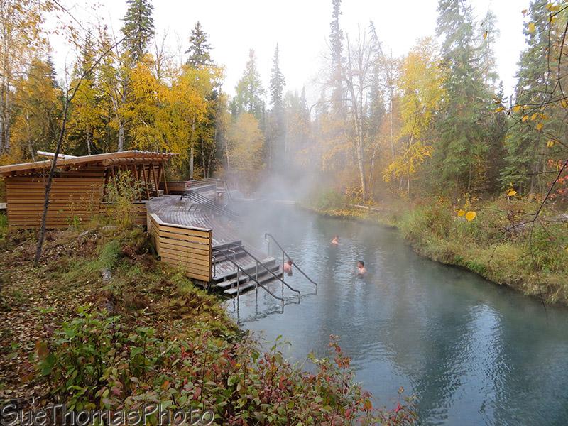 Liard Hotsprings in British Columbia