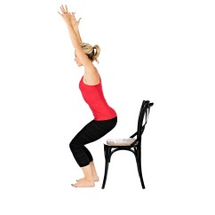 Yoga Chair Pose Ikea Covers Ireland Flow By Kristie Belliston The Belly Fit Club