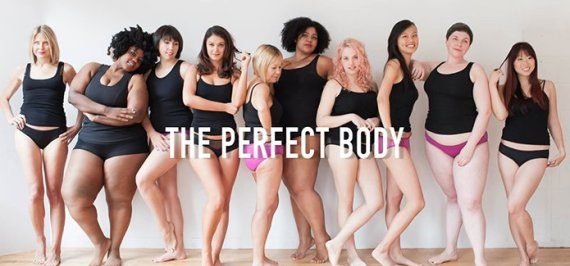 The Perfect Body Is A Myth
