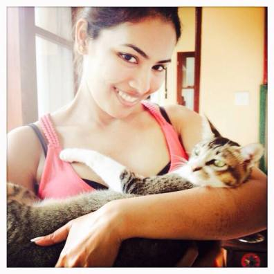Silvie's cat Loki | Vacation in Bali | The Bellyrina Diaries