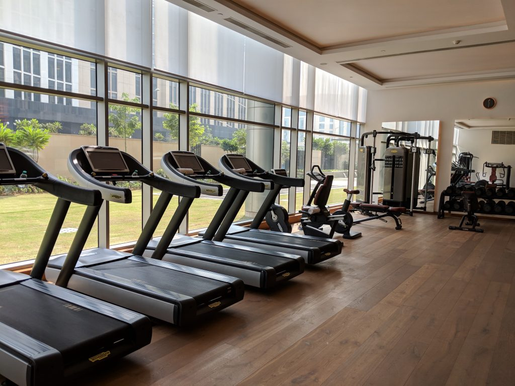 Stay Fit On Vacation | Gym At Hyatt Andaz Delhi | The Bellyrina Diaries
