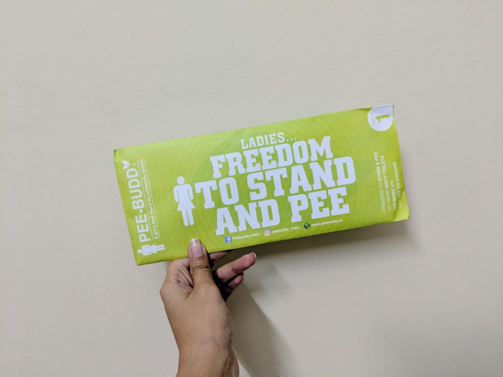PeeBuddy | Women Stand And Pee | Travel Accessory | The Bellyrina Diaries