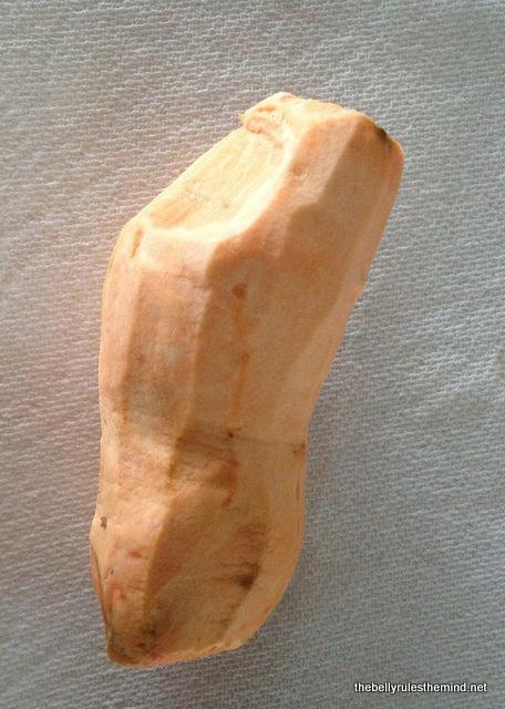 Peeled Sweet Potato