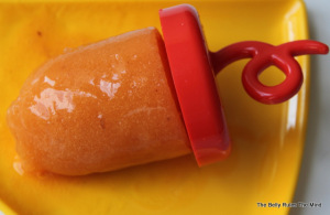 Peach Popsicle