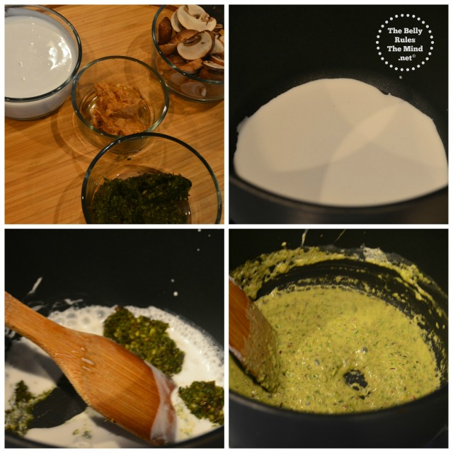steps for thai green curry soup