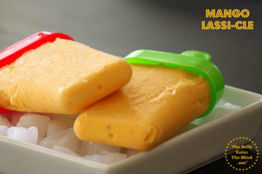 Mango-lassicle