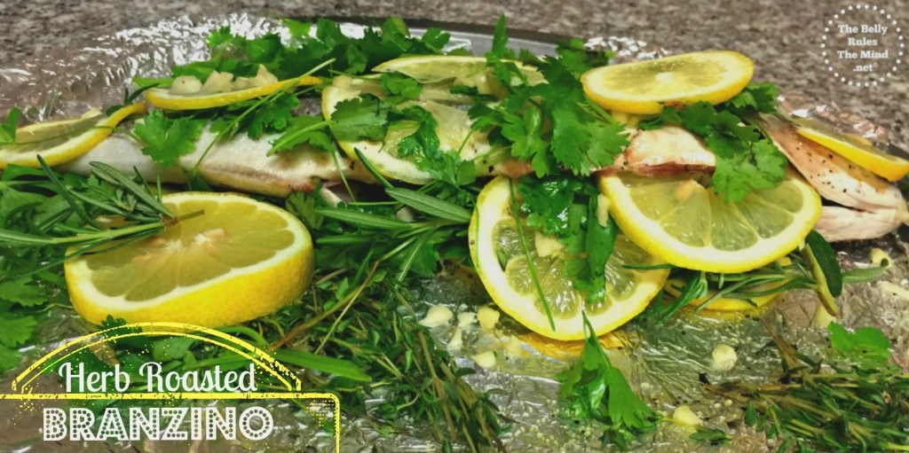 Herb Roasted Branzino