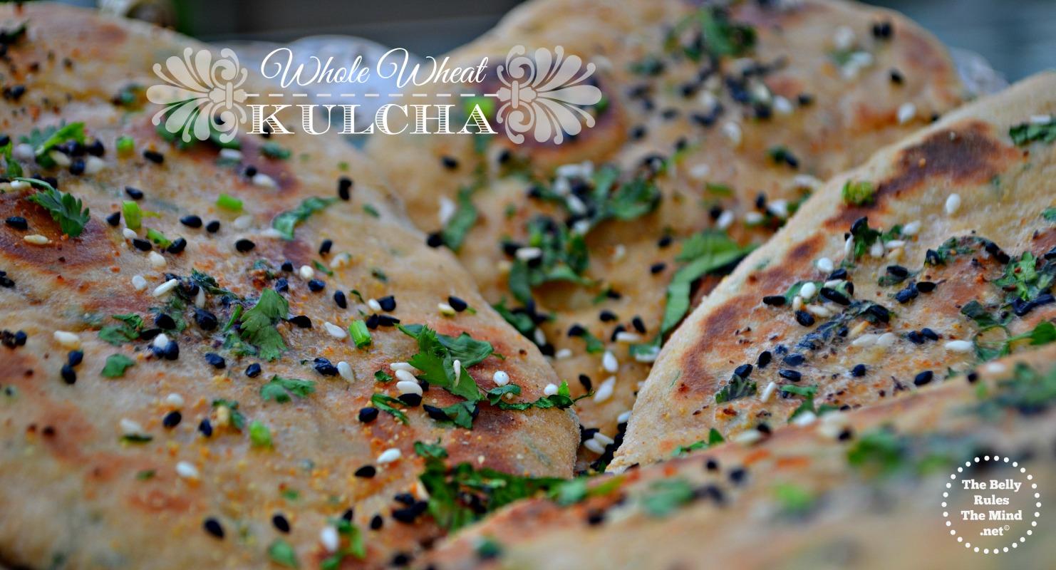 WHOLE wheat kulcha