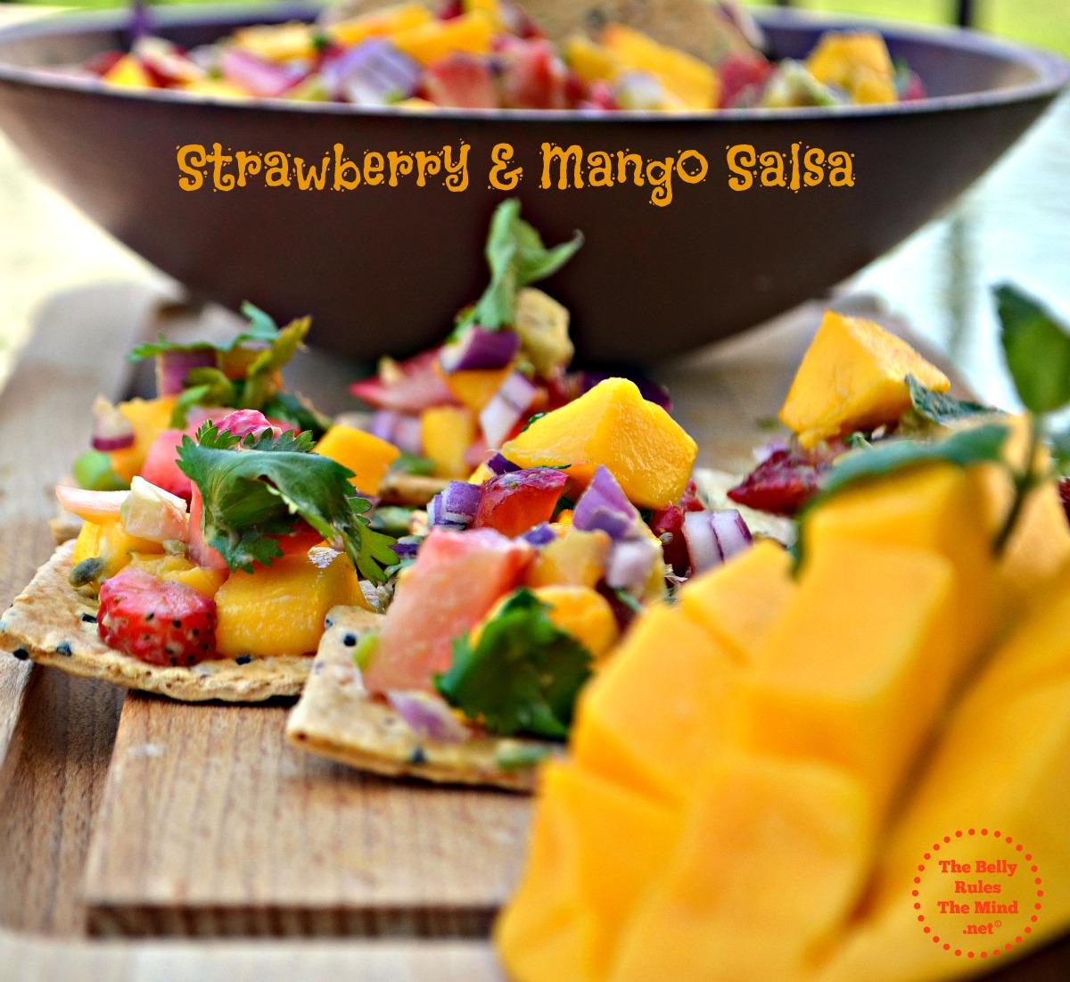 strawberry & mango salsa