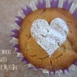 Whole Wheat Eggless Pineapple Muffins