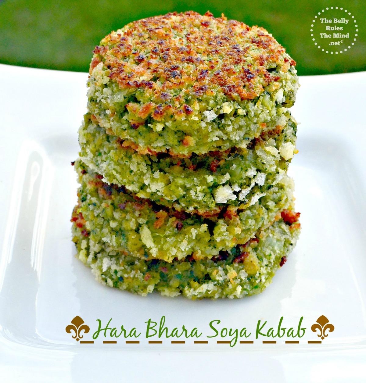 Hara bhara soya kabab