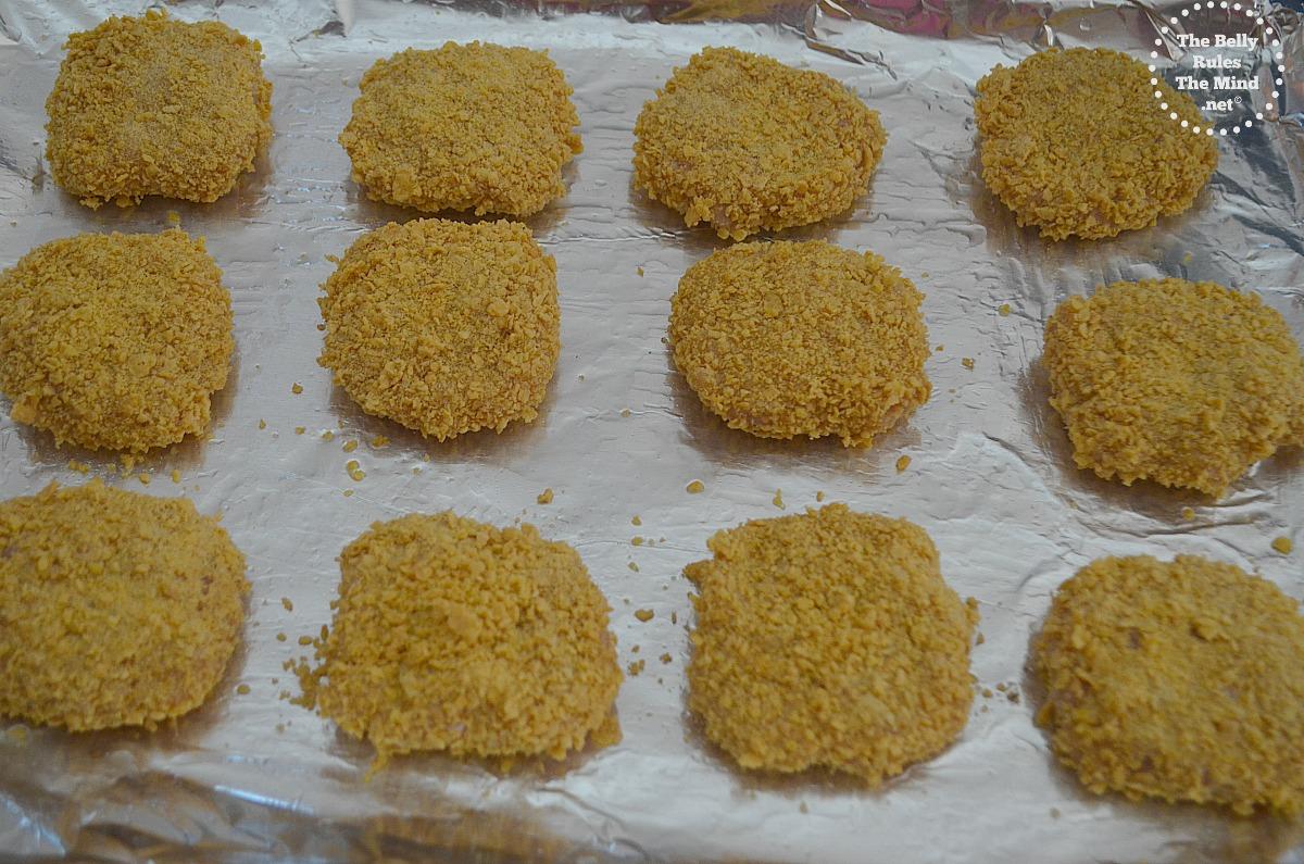Home made chicken nugget