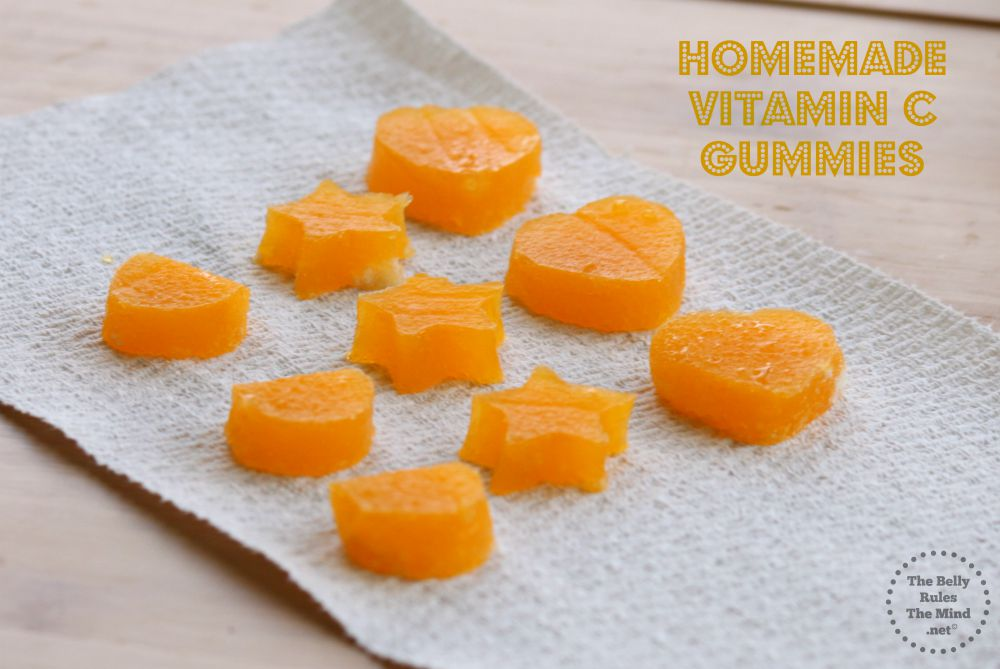 Homemade Vitamin C Gummies | The Belly Rules The Mind