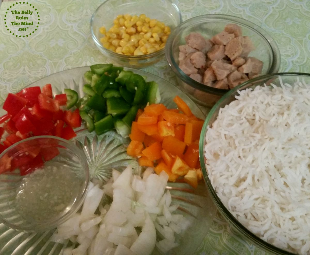 Pulao Ingredients