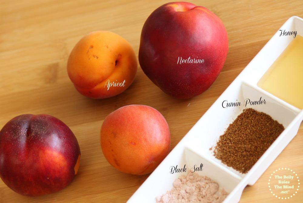 Apricot Nectarine juice ingredients