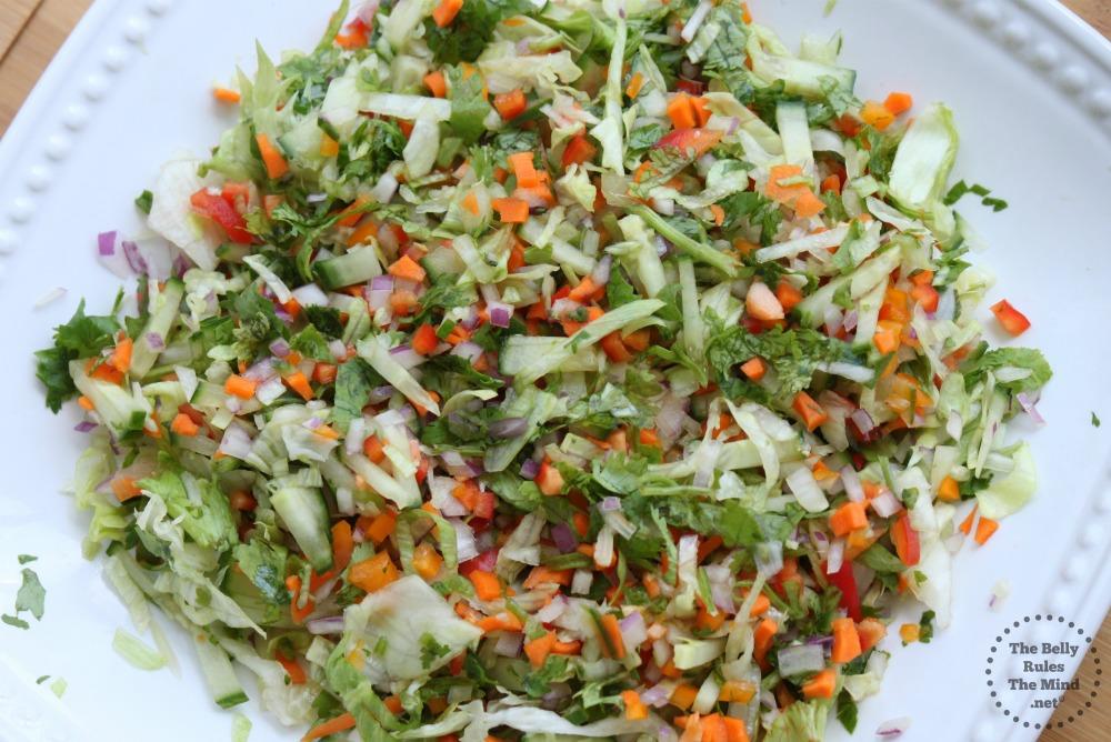 Beta-carotene salad