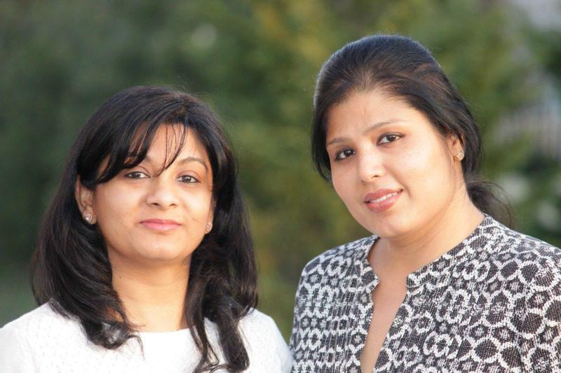 (L) Anvita Bhatnagar Mistry & (R) Soniya Saluja
