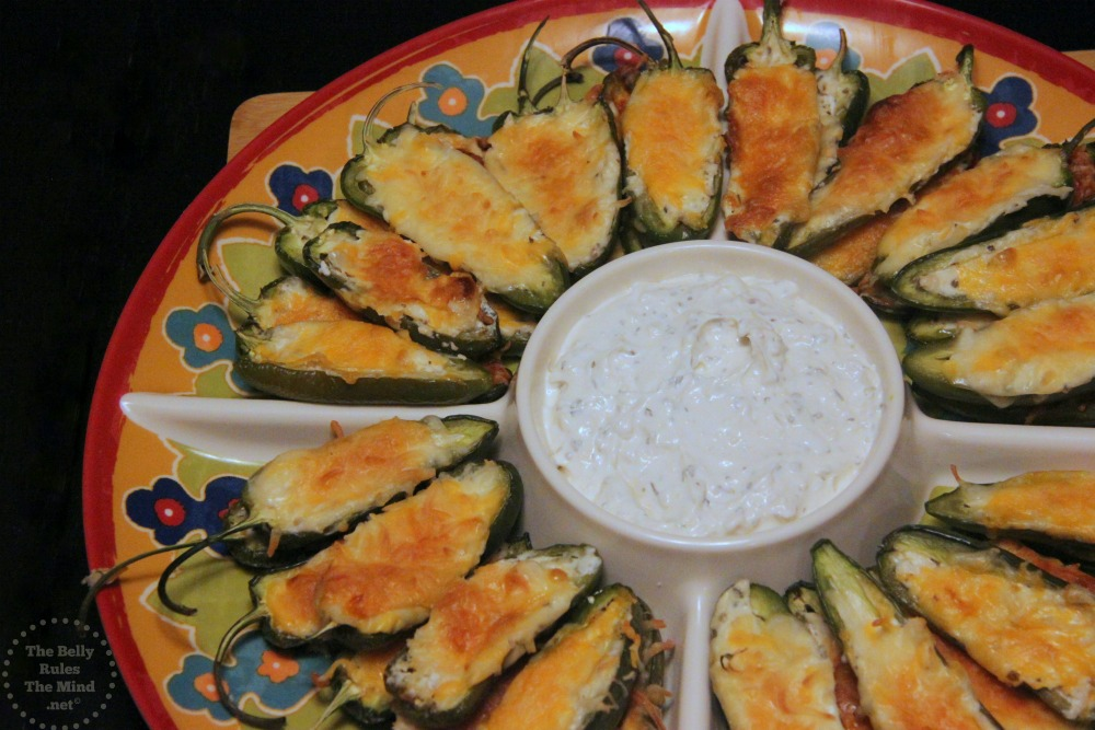 Stuffed Jalapenos for Potluck