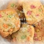 Tutti frutti  Cookies (eggless)