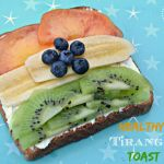 Healthy Tiranga Toast