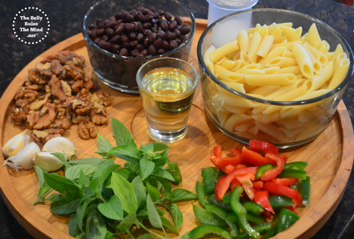 how to cook black bean pasta