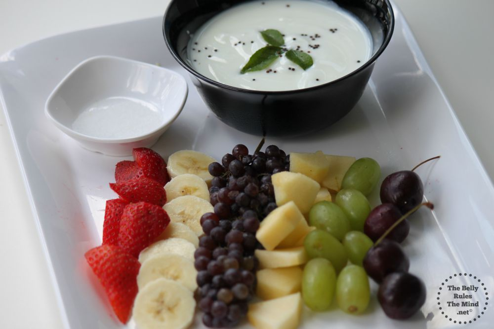 Fruit Raita Ingredients