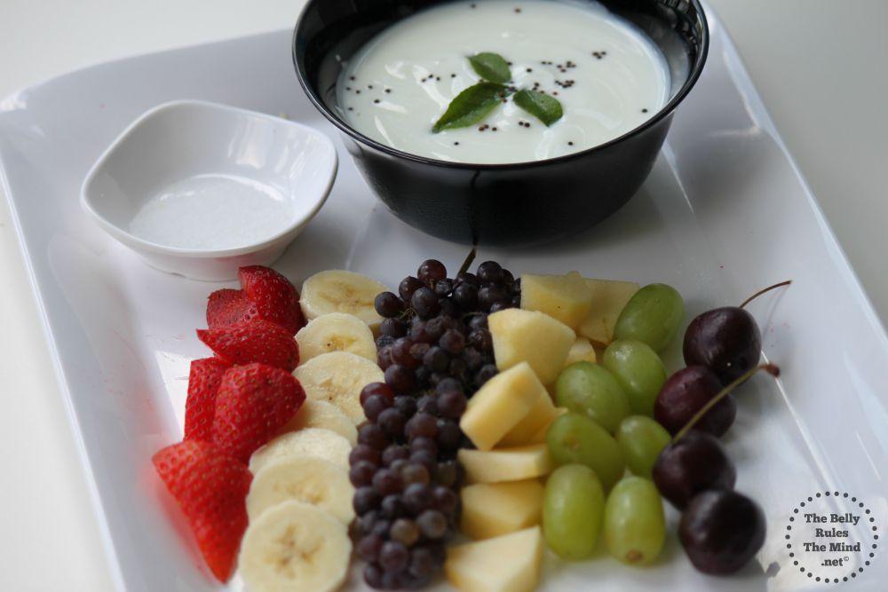 Fruit Raita Ingredients