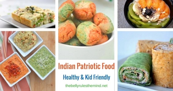 Indian Patriotic Food
