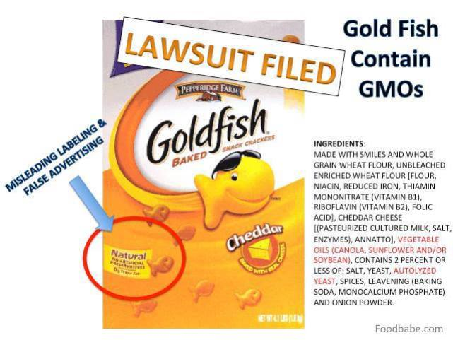 goldfish natural