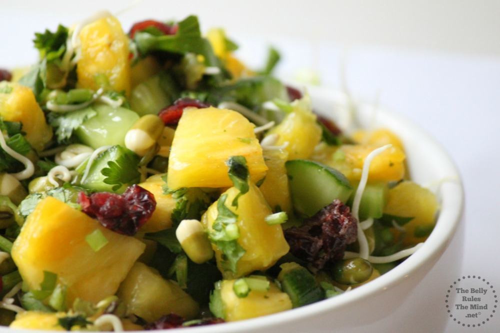 pineapple mung salad 1