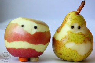 halloween fruit mummies