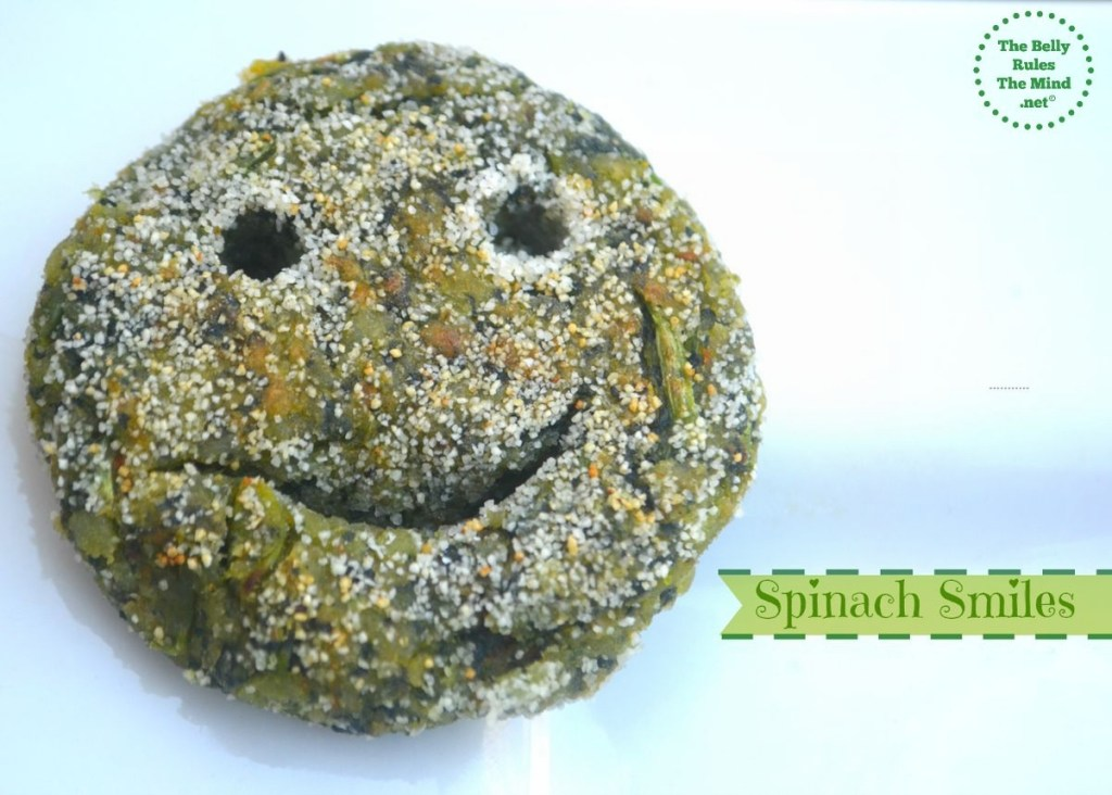 Spinach smiles