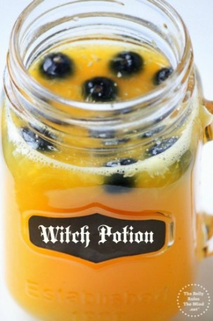 halloween witch potion