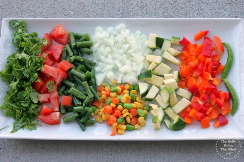Mix veg platter for pasta sauce