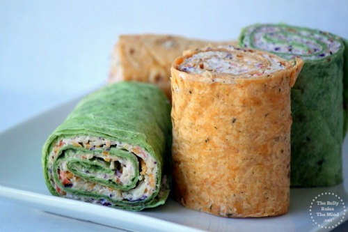 Vegetable Pinwheels, Party Food