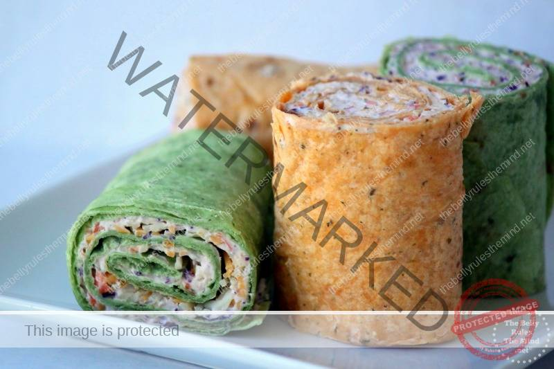 Vegetable Pinwheels