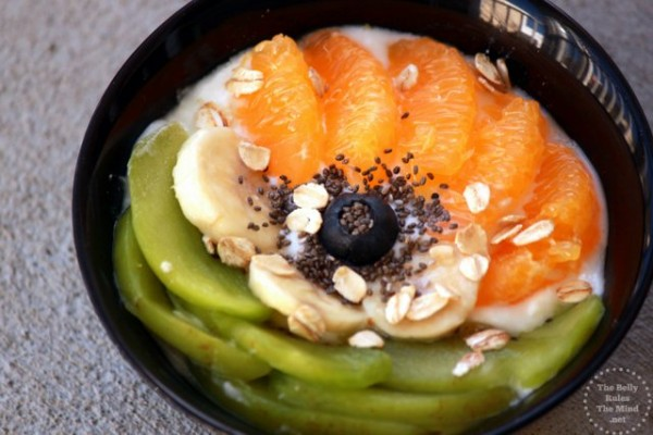 Banana Oatmeal Yogurt Bowl