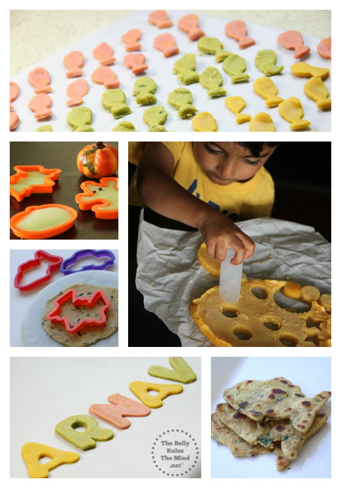 using cookie cutters