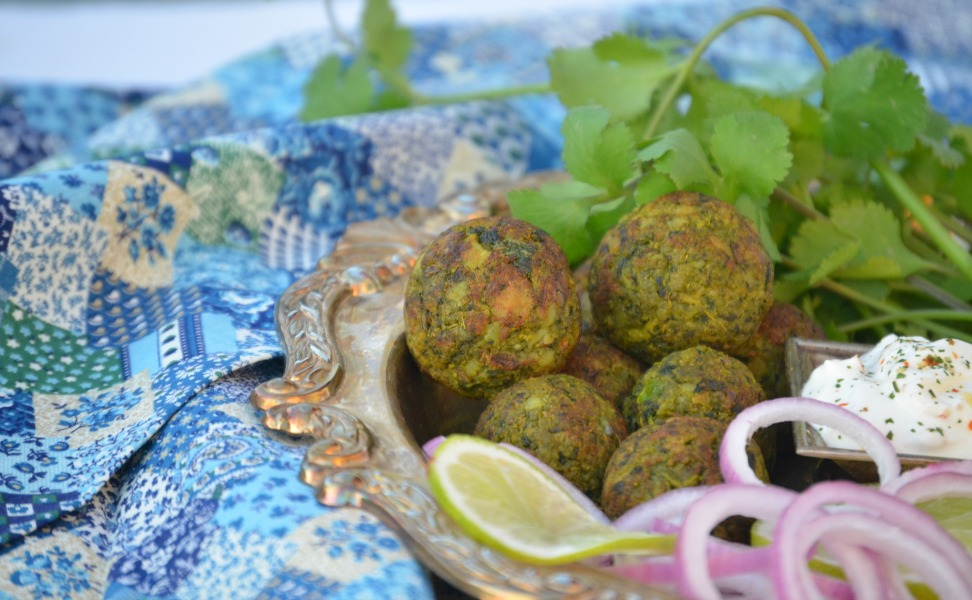 No-Fry Hara Bhara Kebab / Green Vegetable Patty